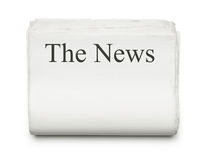 The news Royalty Free Stock Image