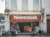 News stand Royalty Free Stock Images