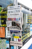 News Stand. A newstand in Bath, England royalty free stock images