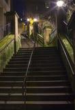 The News Steps in Edinburgh Royalty Free Stock Photo