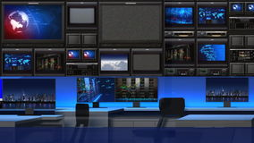 News studio 101C2(close up) royalty free illustration