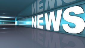 News text Royalty Free Stock Image
