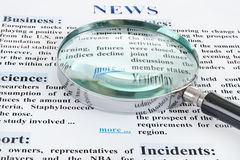 News text Royalty Free Stock Images