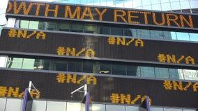 News Ticker, Stock Symbols, Markets, Trades Royalty Free Stock Photo
