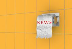 News time! Stock Images