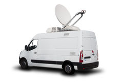 News Truck Stock Image