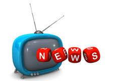 News TV Stock Images