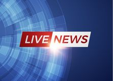 News vector background. EPS10. News vector background, breaking news. Can be used for blog background or technological or business article backdrop. EPS10 Royalty Free Stock Photos
