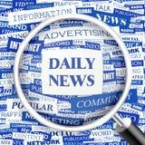 DAILY NEWS Stock Photos