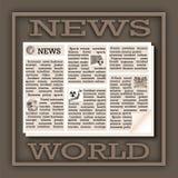 News World Stock Image