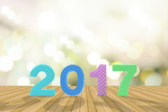 News year 2017 background Stock Photo
