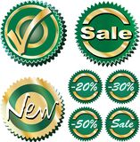 Newsalegreen stock illustration