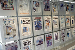 Newseum Museum Stock Images