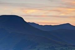 Newsland sunset Stock Image