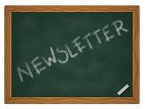 newsletter Imagem de Stock
