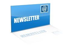 Newsletter Lizenzfreies Stockbild