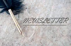 Newsletter Stock Images