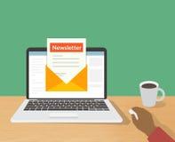 newsletter ελεύθερη απεικόνιση δικαιώματος