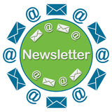 Newsletter Circular Royalty Free Stock Images