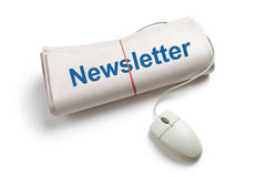 Newsletter Stock Photography
