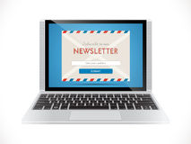Newsletter - e-mail marketing Royalty Free Stock Photos