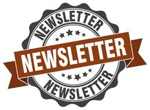Newsletter stamp Stock Images