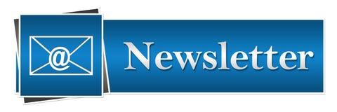 Newsletter-Knopf-Art Lizenzfreies Stockfoto