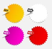 Newsletter, realistic design elements Royalty Free Stock Photography