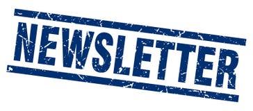 Newsletter stamp Stock Photo