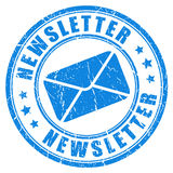 Newsletter stamp Stock Images