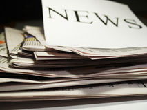 Newspaper 1 Stock Photography