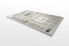 Newspaper royalty free illustration