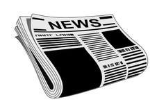 Newspaper Royalty Free Stock Photo