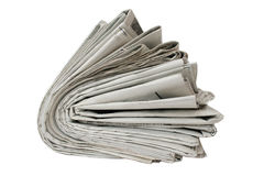 Newspaper. An newspaper waiting to read Stock Image