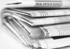 Newspaper Royalty Free Stock Photos