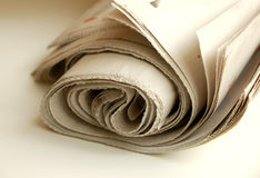 Newspaper #4 Stock Image