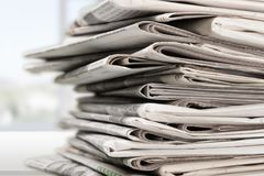 Free Newspaper Royalty Free Stock Photo - 60084385