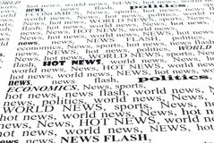 The newspaper Stock Image