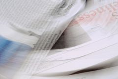 Newspaper background Royalty Free Stock Images