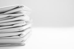 Newspaper With Copyspace Royalty Free Stock Images