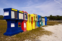 Newspaper Dispensers Royalty Free Stock Images