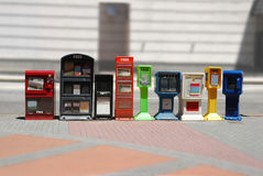Newspaper Dispensers Royalty Free Stock Photo
