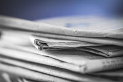 Newspaper,document for information Royalty Free Stock Images