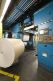 Newspaper Factory Stock Photography