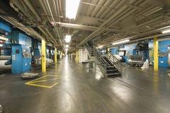 Newspaper Factory Stock Photos