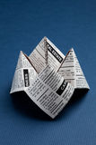 Newspaper Fortune Teller Stock Photos