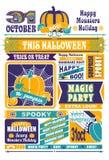 Newspaper Halloween Stock Photography