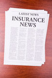 The newspaper LATEST NEWS Royalty Free Stock Image