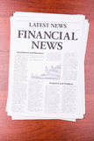 The newspaper  Latest News Stock Photography