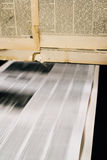 Newspaper offset printing Royalty Free Stock Photography